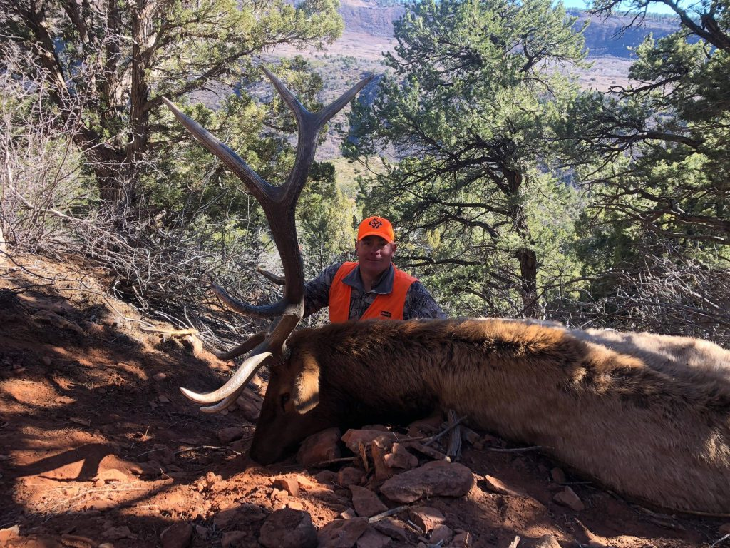 Colorado unit 61 4th rifle season elk hunt with Allout outfitters